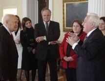 Συνάντηση Της Ανώτατης Συνομοσπονδίας Πολυτέκνων Ελλάδος Με Τον Πρόεδρο Της Δημοκρατίας Κ. Κάρολο Παπούλια